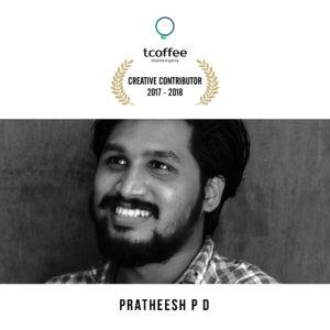 Pratheesh P.D tcoffee